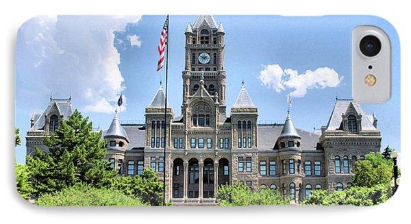 Salt Lake City County Building IPhone Case