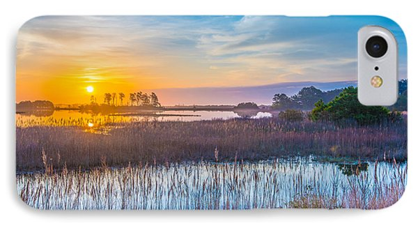 Salt Marsh Sunrise II IPhone Case