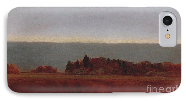 Salt Meadow In October, 1872 IPhone Case