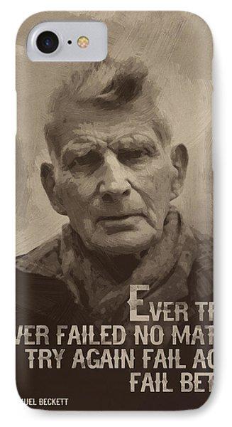 Samuel Beckett Quote IPhone Case