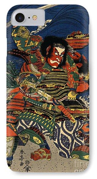 Samurai Warriors Battle 1819 IPhone Case