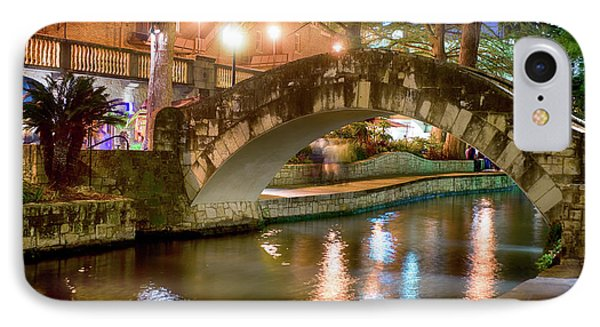 San Antonio River Walk V1 IPhone Case
