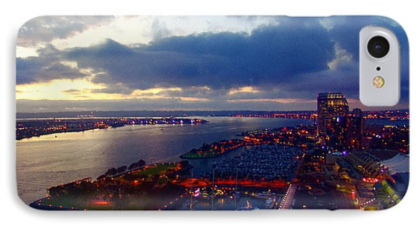 San Diego By Night IPhone Case