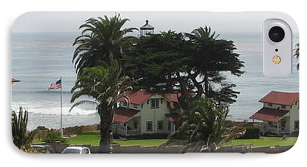 San Diego Pt Loma Lighthouse IPhone Case