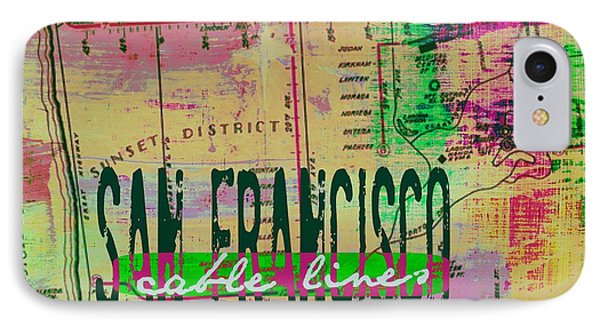 San Francisco Cable Lines V2 IPhone Case