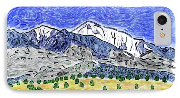 San Francisco Peaks -vg2 IPhone Case