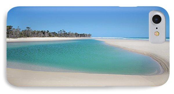 Sand Island Paradise IPhone Case