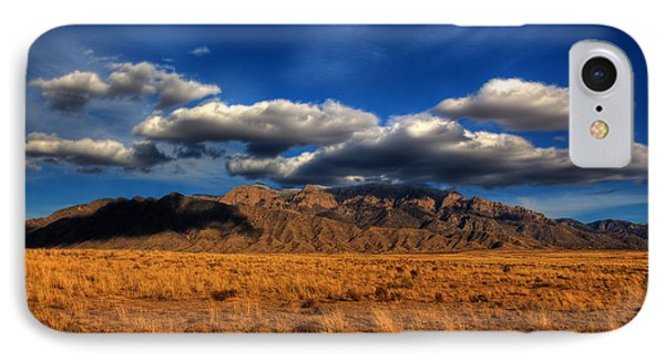 Sandia Crest In Late Afternoon Light IPhone Case