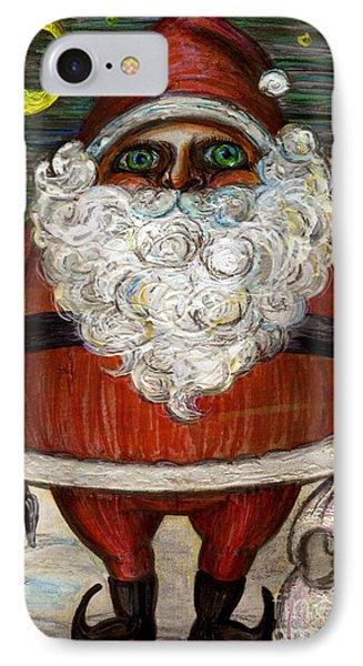 Santa Claus By Akiko IPhone Case