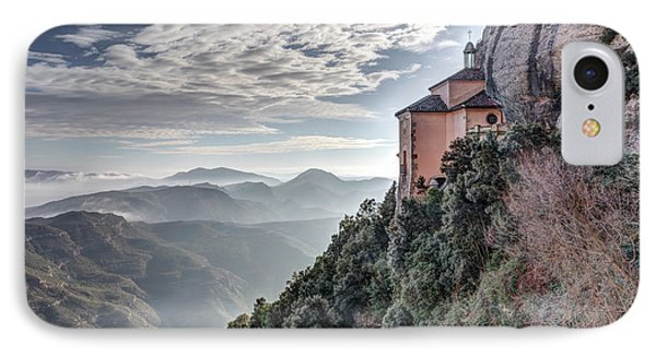 Santa Cova De Montserrat, Catalonia IPhone 8 Case