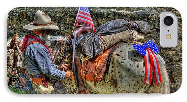 Santa Fe Cowboy IPhone Case