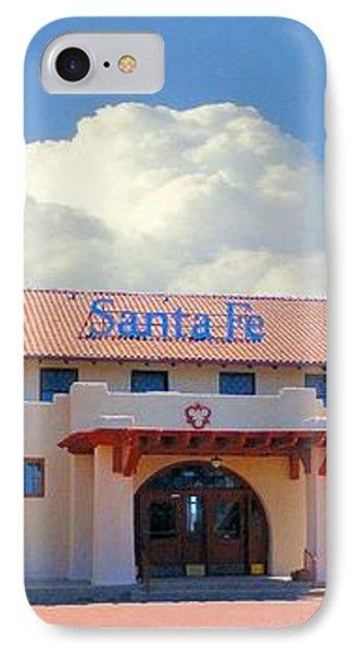 Santa Fe Depot In Amarillo Texas IPhone Case