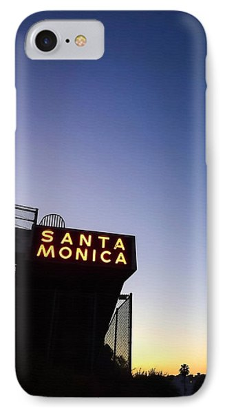 Santa Monica Sunrise IPhone Case