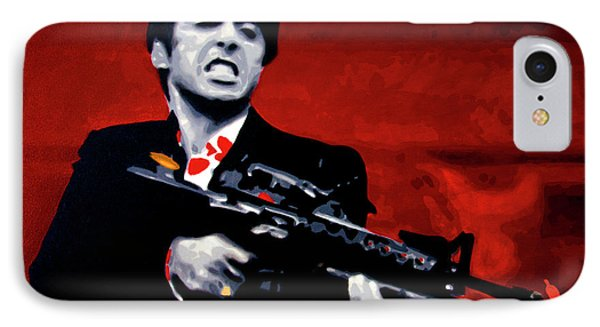 Say Hello To My Little Friend  IPhone Case
