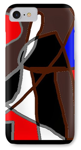 Scandal In Bohemia Original Abstract Expressionism Art Painting IPhone Case