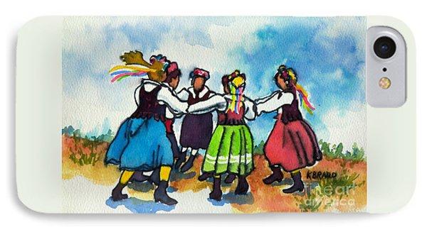 Scandinavian Dancers IPhone Case