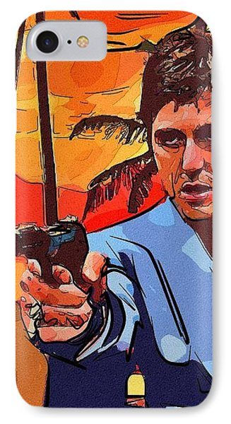 Scarface Tony Montana IPhone Case