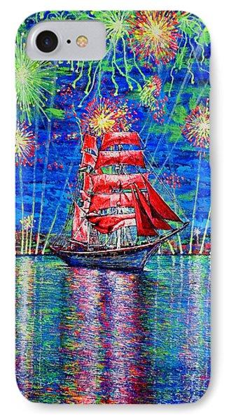 Scarlet Sail IPhone Case