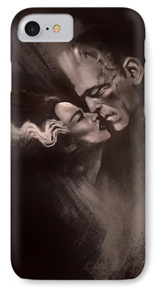 Tribute iPhone 8 Case - Scarred Lovers by Alex Ruiz