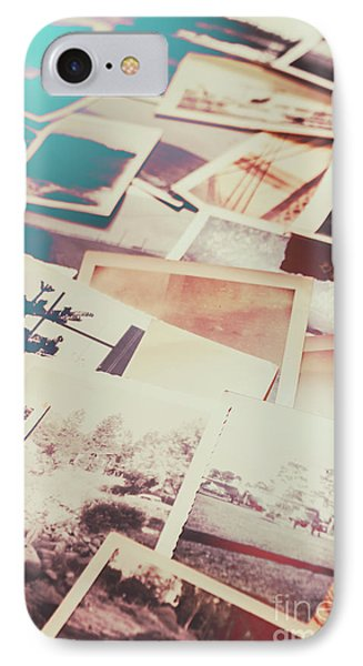 Scattered Collage Of Old Film Photography IPhone Case