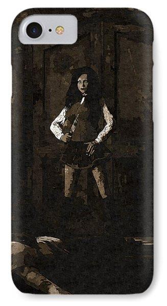 Schoolgirl Revenge IPhone Case