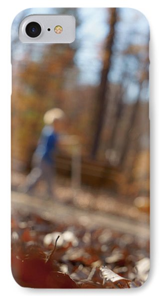 IPhone Case featuring the photograph Scootering At The Park by Greg Collins