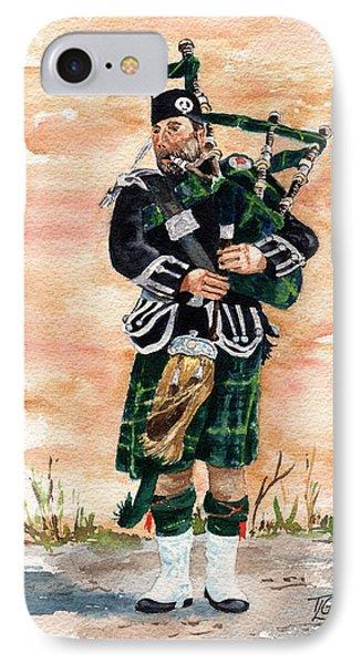 Scotland The Brave IPhone Case