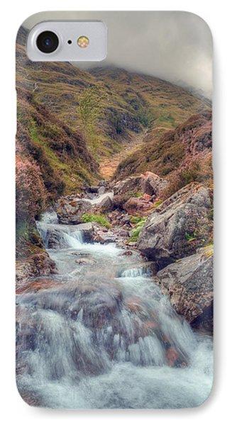 Scottish Mountain Stream IPhone Case