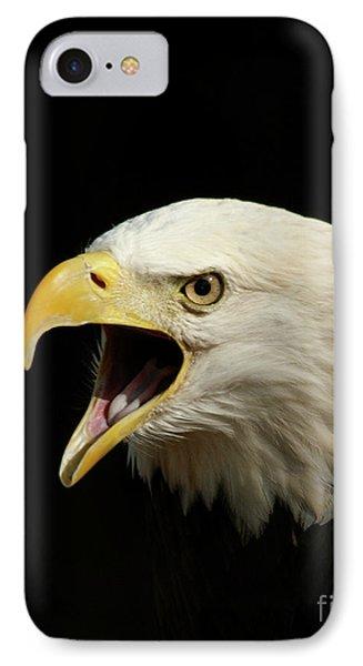 Screaming Eagle IPhone Case