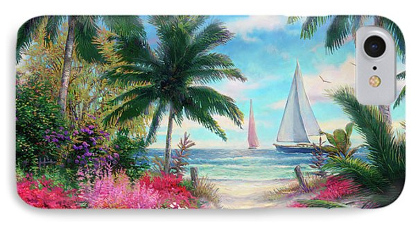Sand iPhone 8 Case - Sea Breeze Trail by Chuck Pinson