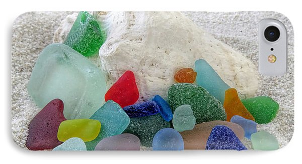 Sea Glass And Conch IPhone Case