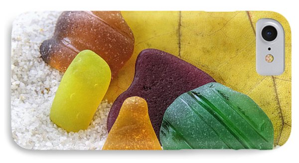 Sea Glass In Fall Colors IPhone Case