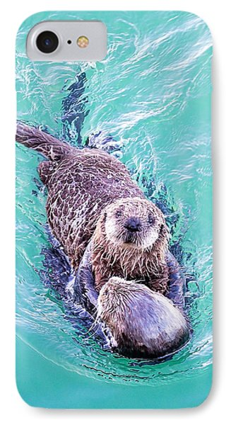 Sea Otter Pup IPhone Case