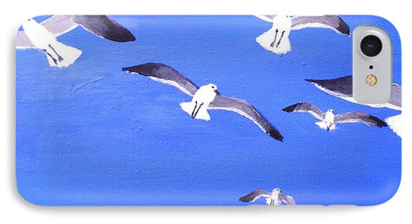 Seagulls Overhead IPhone Case