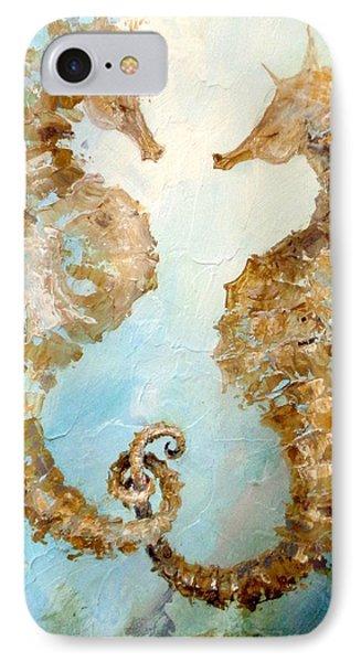 Seahorses In Love 2016 IPhone Case