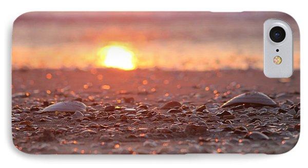 Seashells Suns Reflection IPhone Case