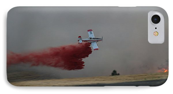 Seat Drops On Indian Canyon Fire IPhone Case
