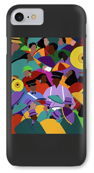 iPhone 8 Case - Second Line New Orleans by Synthia SAINT JAMES