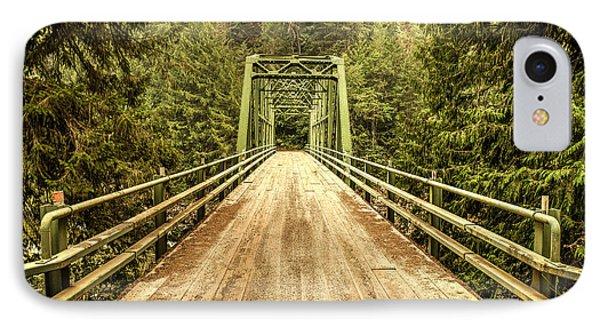 Selway River Bridge IPhone Case