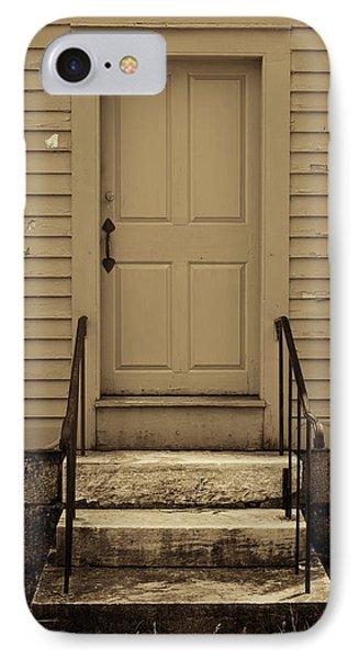 Sepia Shaker Door IPhone Case