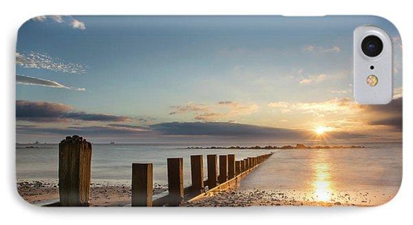 September Sunrise At Aberdeen Beach IPhone Case