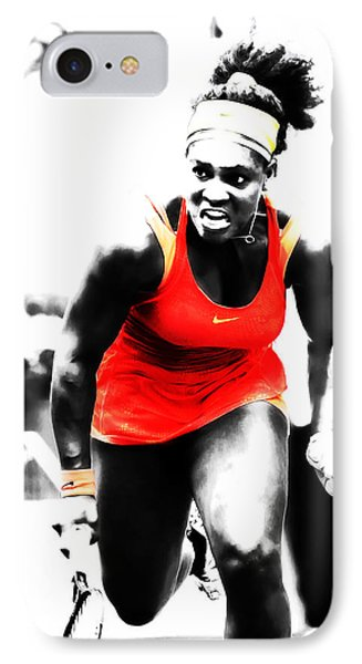 Serena Williams Go Get It IPhone Case