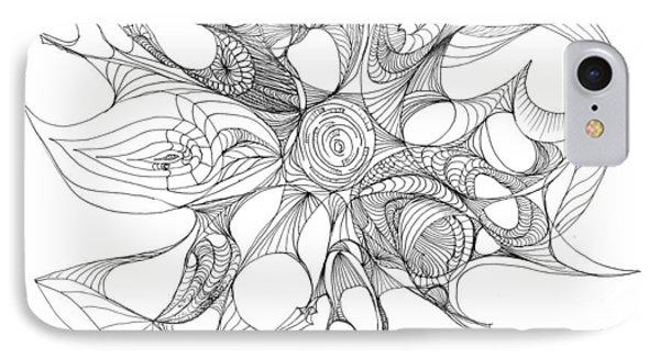 Serenity Swirled IPhone Case