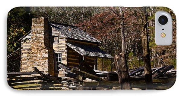 Settlers Cabin Cades Cove IPhone Case