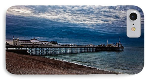 Seven Am On Brighton Seafront IPhone Case