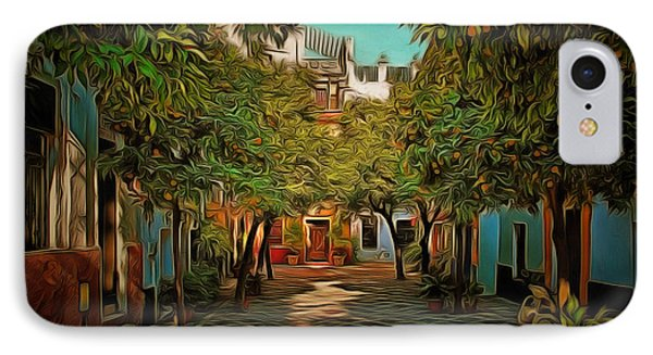 Seville Oranges IPhone Case