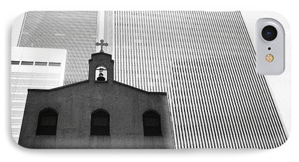 Shadow Of World Trade Center IPhone Case