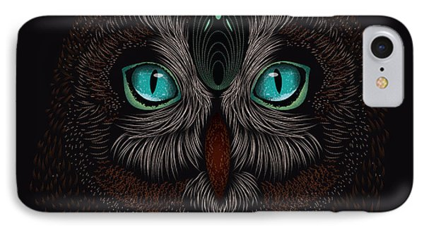 Shaman Spirit Owl IPhone Case