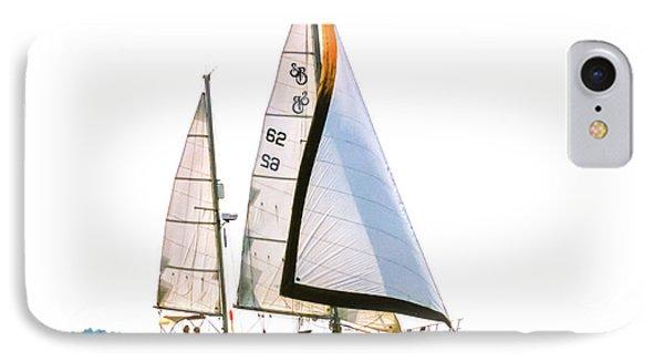 Shannon 38 Kittiwake On Chesapeake Bay IPhone Case