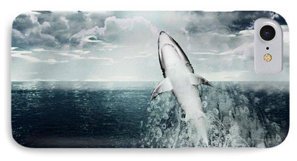 Shark Watch IPhone Case